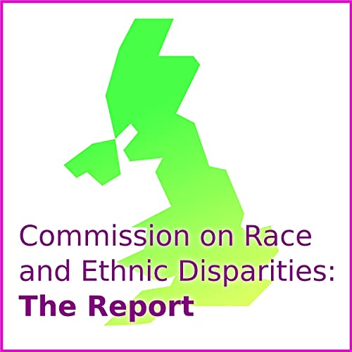 『Commission on Race and Ethnic Disparities: The Report』のカバーアート