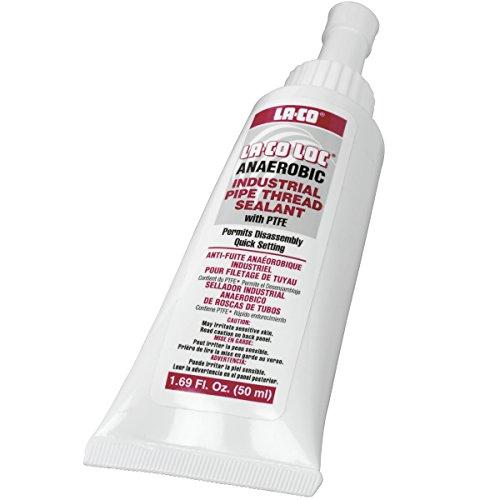 La-Co - 49050 LA-CO Anaerobic Pipe Thread Sealant, -65 to 400 Degree F Temperature, 50 ml