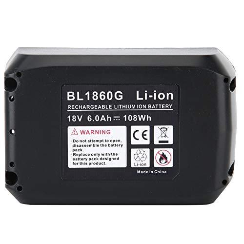 Surebuy Batería de Litio de Alta compatibilidad, Duradera, para el Modelo MAKITA(6.0ah,...