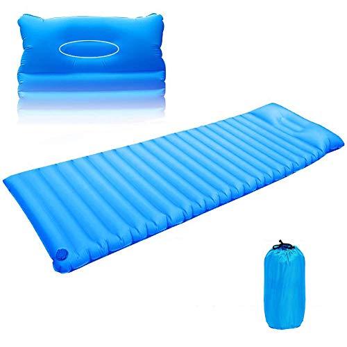 Isomatte Camping, Aufblasbare Luftmat Luftmatratze, Schlafsack, Schlaf Matratze Camping, Selbstaufblasende Camping Matratze; Ultra-kompakt