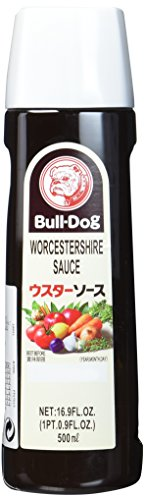 BULLDOG Worcester Sauce, 1er Pack (1 x 500 ml)