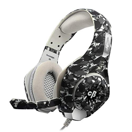 Cosmic Byte GS410 Headphones with Mic and for PS4, Xbox One, Laptop, PC, iPhone and Android Phones (Camo Black)