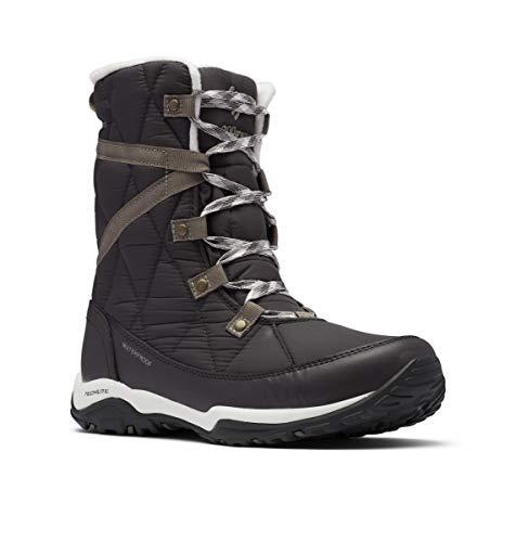 Columbia Women's CASCARA Omni-Heat Snow Boot, Dark Grey/Kettle, 10.5