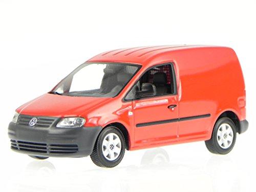 VW Caddy Kasten Lieferwagen 2005 rot Modellauto Minichamps 1:43