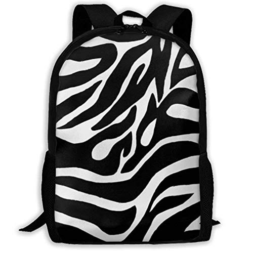 XCNGG NiYoung Laptop Backpack Business Thin and Durable Travel Backpack - University Men and Women Computer Bag - Zebra Stripe