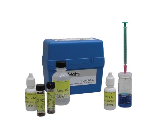 LaMotte 4824-DR-LT-01 Calcium Magnesium and Total Hardness Direct Reading Titrator Individual Test Kit, 0-200ppm CaCO3 Range, 4ppm CaCO3 Sensitivity