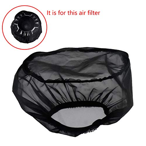 REBACKER Motorcycle Waterproof Air Filter Rain Sock Dustproof Protective Cover For Harley Dyna Sportster Touring Softail Air Cleaner Kits