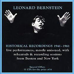 Léonard Bernstein : The Historical Recordings 1941-1961