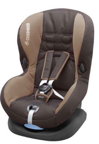 Maxi-Cosi Priori SPS Plus Kindersitz mit optimalem Seitenaufprallschutz und 4 Sitz- und Ruhepositionen, Gruppe 1, stone