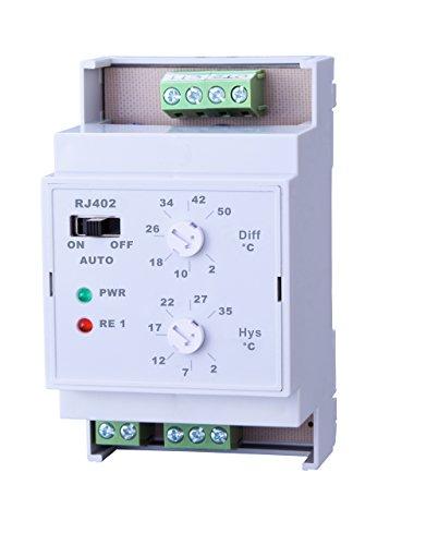 Elektrobock RJ402 Temperatur Differenzschalter