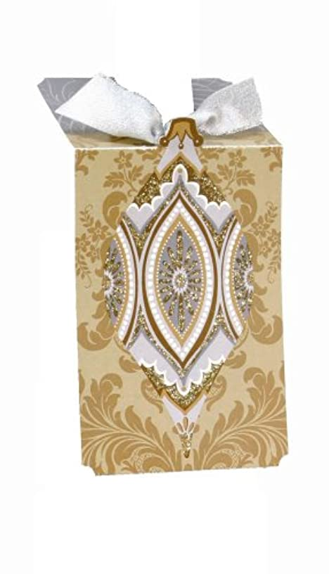 CR Gibson Dorothy Ornaments Embellished Bottle Gift Tags (Pack of 6)