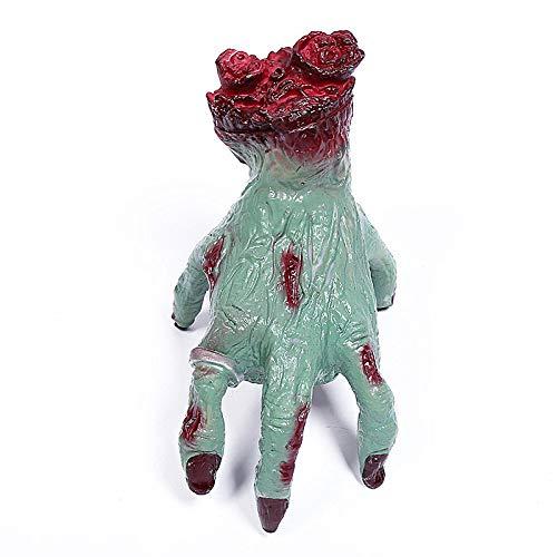 YJingMM Accesorios De Halloween Sangre Falsa Colgante De Terror Animal De SimulaciN De Halloween For La Noche De Halloween Green