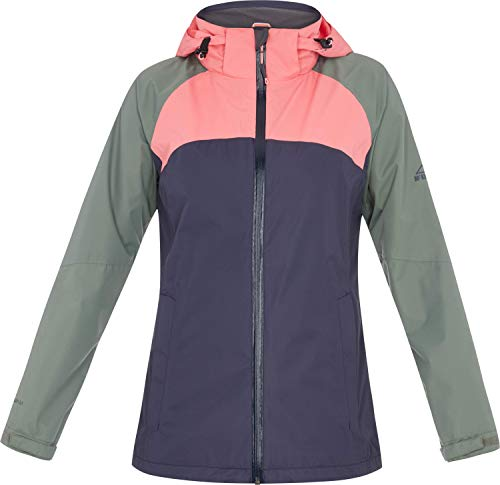 McKINLEY Damen Laga Funktions-Jacke, Navy Dark/Green DAR, 42