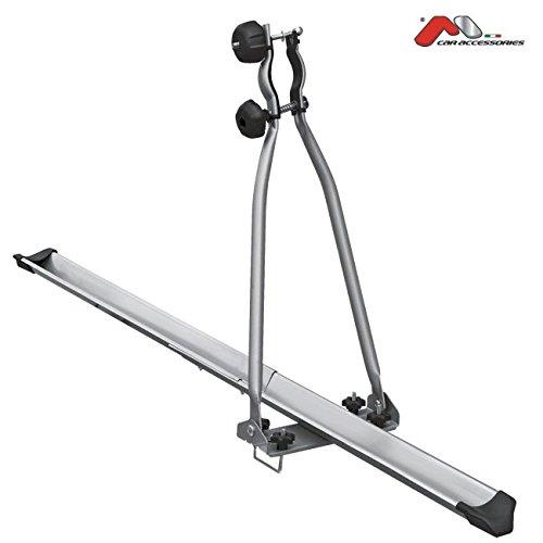 Montblanc MAXI205400 - Portabicicletas para techo de coche, acero (fijación para 1 bicicleta).
