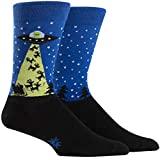 Sock It To Me Men's The Alien Who Stole Christmas Holiday Socks