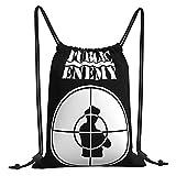 Fairy UMI Bolsas de cuerdas Public Enemy Mochila con cordón Bolsa deportiva...