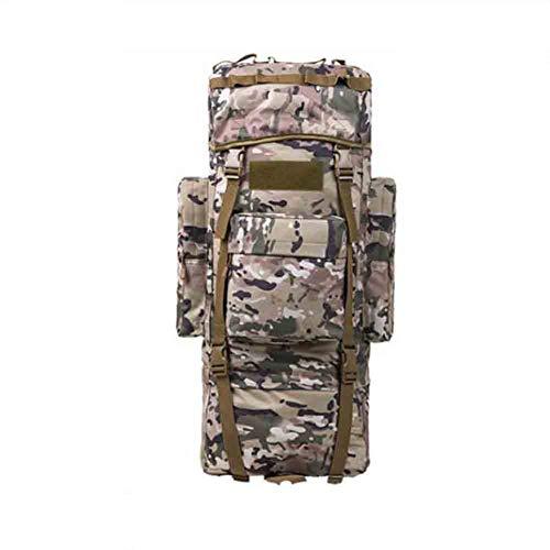 Sunny 115L Grande Capacité d'alpinisme Sac À Dos Sac À Dos Camouflage Homme, Support De Cadre en Aluminium (Couleur : 05)
