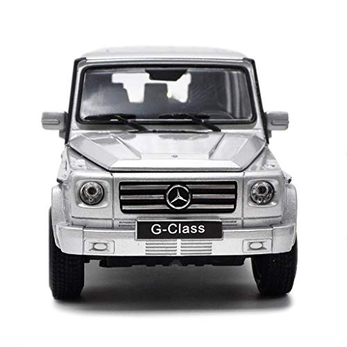 toy Junge, Mädchen, Kind, Auto Modellierspielzeug, Modellauto 1:24 Mercedes-Benz G-Serie G-Klasse Automodell Legierung Simulation Automodell Original Sportwagenserie Schmuck 18X9X7Cm Modellauto