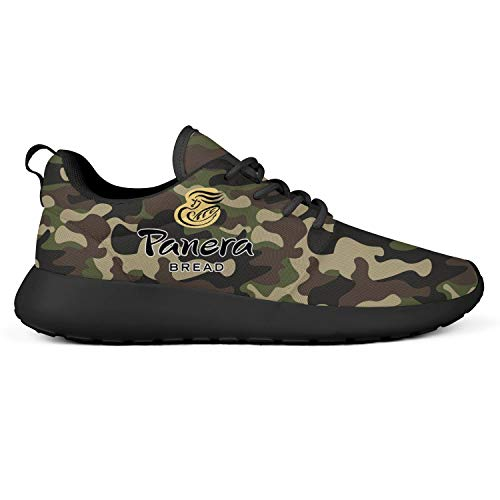 Panera-Bread-Logo- Running Shoes for Men American Football Lightweight Stylish Suitable for All Seasons