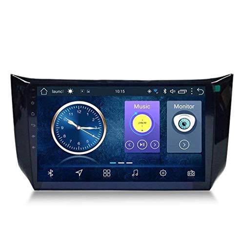 Android 8.1 Navegación Radio TV GPS Radio TV 10.1 pulgadas Full Touch Screen Auto Radio para Nissan Sylphy 2012-2018 con DAB + CD DVD Control Volante Bluetooth USB FM AM,4G + WiFi:2+32G