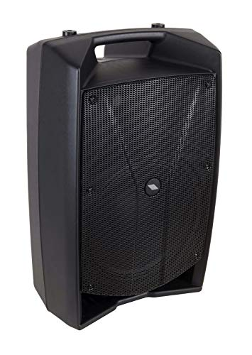Proel V12PLUS - Cassa Monitor Diffusore bi-amplificato a 2 vie 600W Picco, Nero (PROEL - V12PLUS)