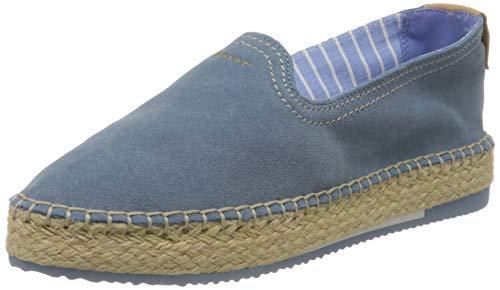 GANT Footwear Damen PEACHTOWN Espadrilles, Blau (Ash Blue G635), 38 EU