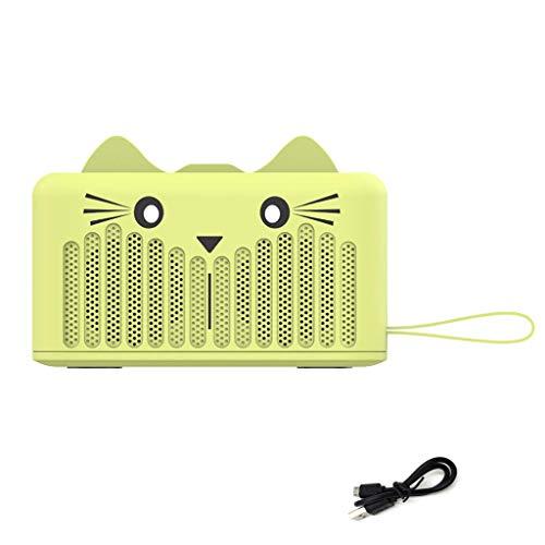 OPAKY Neue Bluetooth-Lautsprecher FM Fuctio TF-Karte & U-Platte Niedlicher Cartoon mit Stand für iPhone, Samsung usw.