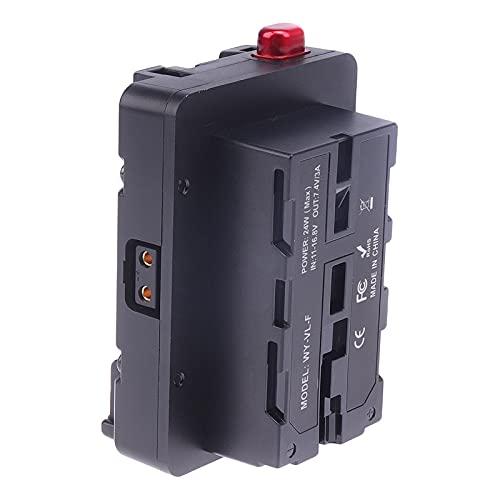 MagiDeal Distribuidor de Energía de Montaje en Batería V-Mount para Cámara DSLR NP-F Battery Z CAM