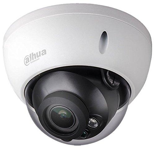 Dahua - Cámara Domo Profesional 6 Mpx IP POE, optica fija 2,8 mm, con iluminación infrarroja. Antivandálica