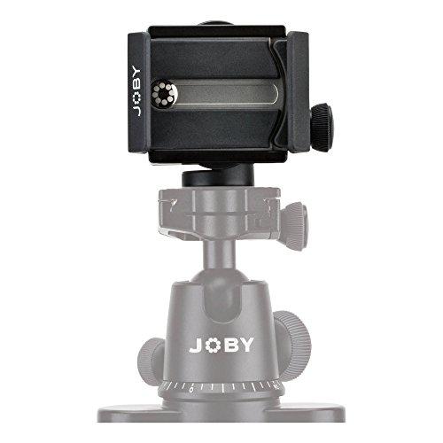 JOBY GripTight Pro Mount - Adaptador Universal Premium para Cualquier Smartphone e iPhone, con o sin Funda, JB01389-BWW