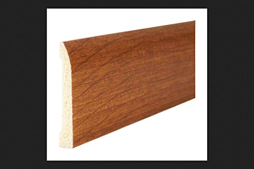 Inteplast Building Products 2-3/8 in. x 8 ft. L Prefinished Russet Polystyrene Trim - Case of: 16