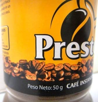 Cafe Presto Instantaneo - Instant Coffee (50g) / 4 Pack