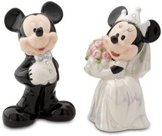Disney Mickey & Minnie Wedding Salt & Pepper
