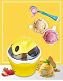 ZJZ Máquina de Helado de Frutas, electrodomésticos, Utensilios de Cocina, máquina de Helados DIY para niños, Sorbete de Yogur eléctrico automático, Uso doméstico