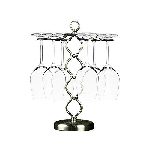 Weinglas Rack-Haushaltsbecherhalter Red Upside Down Home Can Hang Und Bis Zu 6 Weingläser Für Kitchen Bar