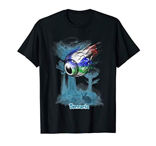 Terraria T-Shirt: Auge von Cthulhu in Wasserfarbe