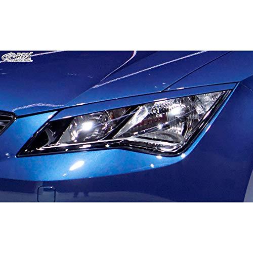 Scheinwerferblenden Seat Leon 5F SC/5-türer/ST 2013- (ABS)