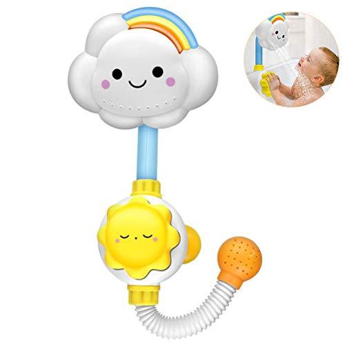 Flower Baby Shower Toy Sunflower Manuelle Wasserpumpe für Kinder Infant Bath Toy