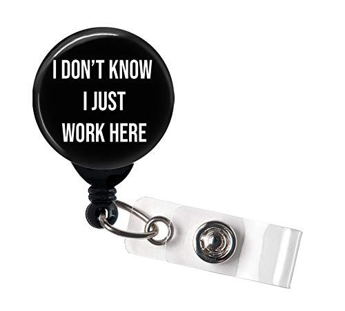 Retractable Badge Reel - I Don