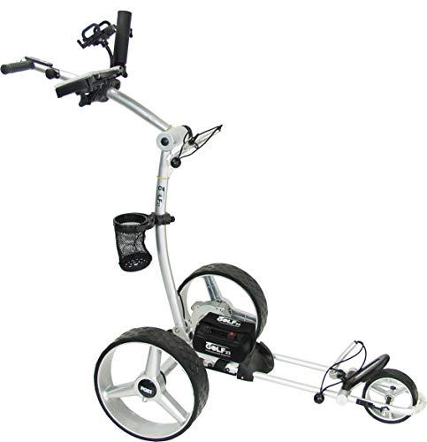 PGE CAD GOLF23 Elektro Golf Trolley 3.1 Lithium Vollausstattung Silber
