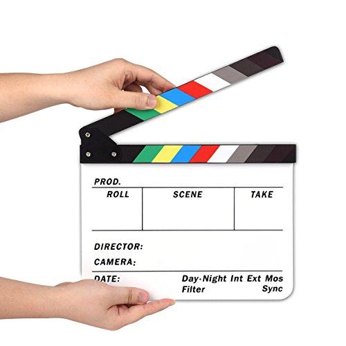 AFAITH SA009 - Pizarra para cámara de Estudio Profesional (acrílico, borrado en seco, 9,85 x 11,8 Pulgadas)