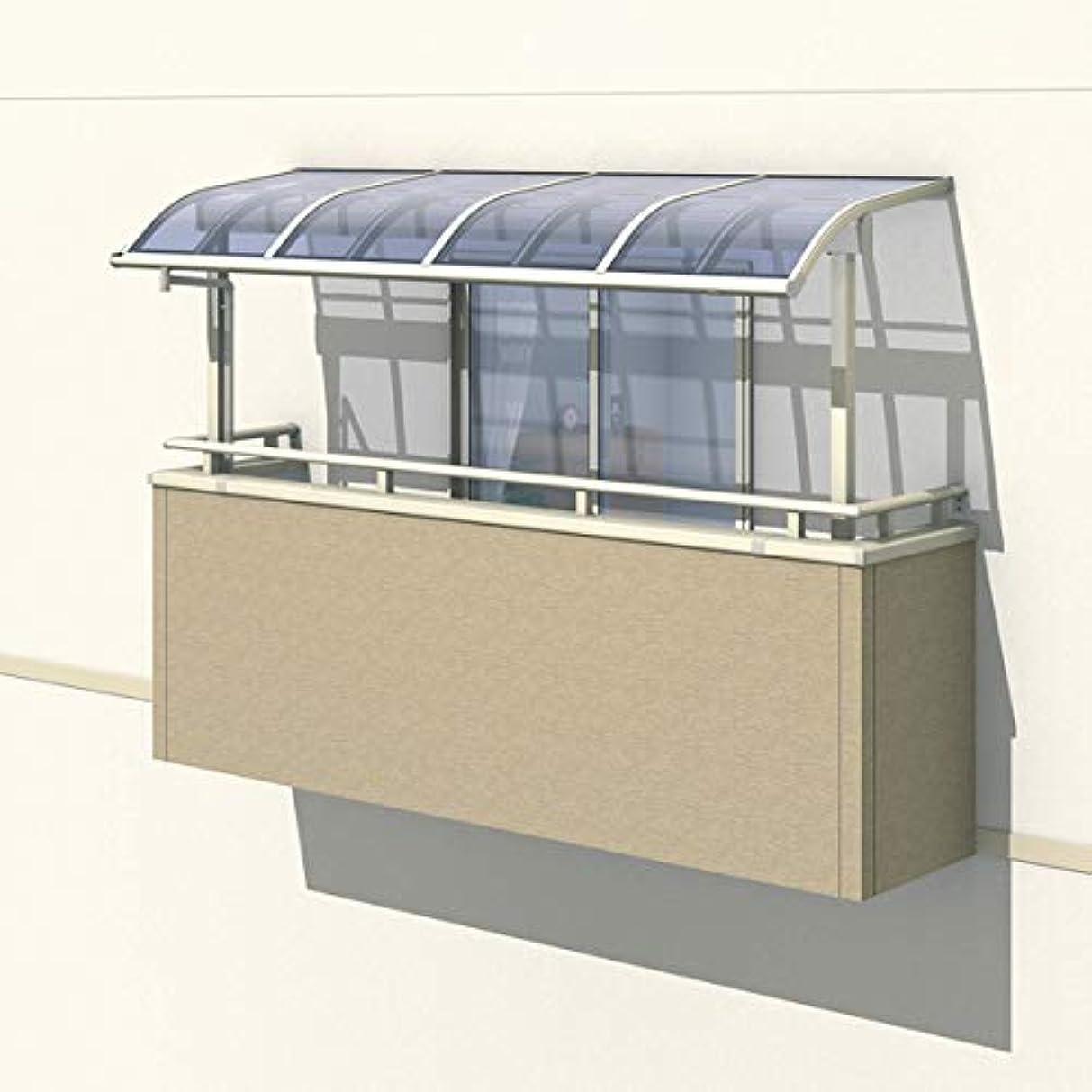 床辛いかわす三協アルミ レボリューZ 4.5間×7尺 1500タイプ/関東間/2階用R型/出幅移動収まり/3連結 『テラス屋根』 熱線遮断ポリカ サンシルバー