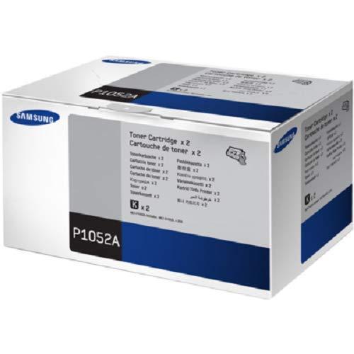 Samsung MLT-P1052A, SV115A, Negro, Cartuchos Tóner de Alta Capacidad Originales, Pack de 2, de 5.000 páginas, compatible con impresoras Samsung LaserJet Serie ML-1910, ML-1915, ML-2525 y ML-2540