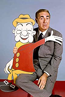Jim Backus with Mr Mister Magoo Cartoon Character 24x18 Poster