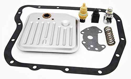 Transmission Governor Pressure Solenoid,A518 46RE 47RE 48RE with Filter Gasket Kit is suitable for Dodge Jeep filter kit solenoid valve and sensor