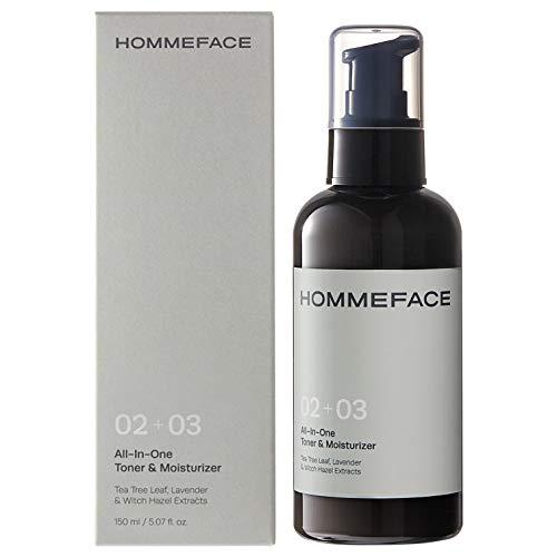 HOMMEFACE All-in-One Face Toner & Moisturizer for Men
