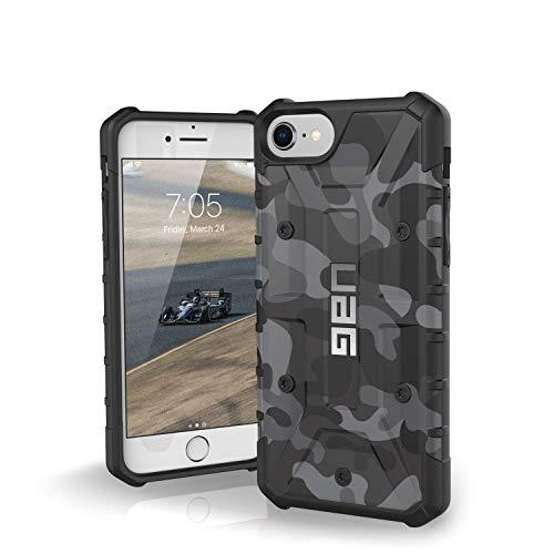 Preisvergleich Produktbild Urban Armor Gear Limited Edition Pathfinder Schutzhülle nach US-Militärstandard für Apple iPhone 8 / 7 / 6S / 6 (Camo schwarz / weiß)[Verstärkte Ecken,  Sturzfest,  Antistatisch]-IPH8 / 7-A-BC