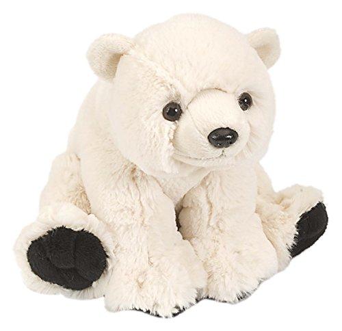 Lashuma Cuddlekins Plüschtier Eisbär, Kuscheltier Polarbär 20 cm
