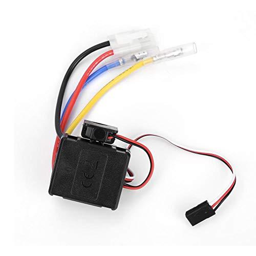 Drfeify RC Auto Motor ESC, 60A RC Fernbedienung ESC Elektronischer Drehzahlregler Gebürstet für RC Autoteil Zubehör