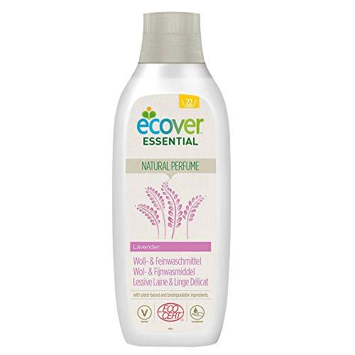 Ecover Lessive Laine Et Linge Délicat Parfum Lavande   Origine Naturelle Pour Un Linge Propre Éco Responsable   Certifié Biologique Ecocert   1L - 22 Lavages